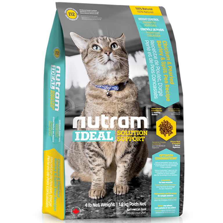 I12 Nutram Ideal Weight Control Cat