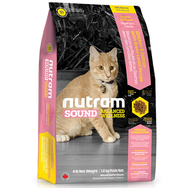 S1 Nutram Sound Kitten