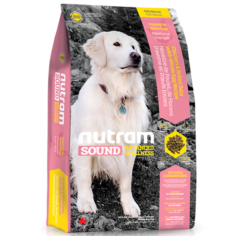 S10 Nutram Sound Senior Dog