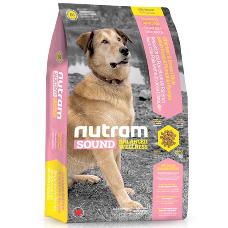S6 Nutram Sound Adult Dog