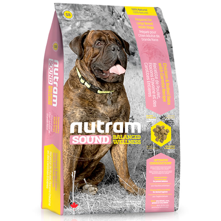 S8 Nutram Sound Large Breed Adult