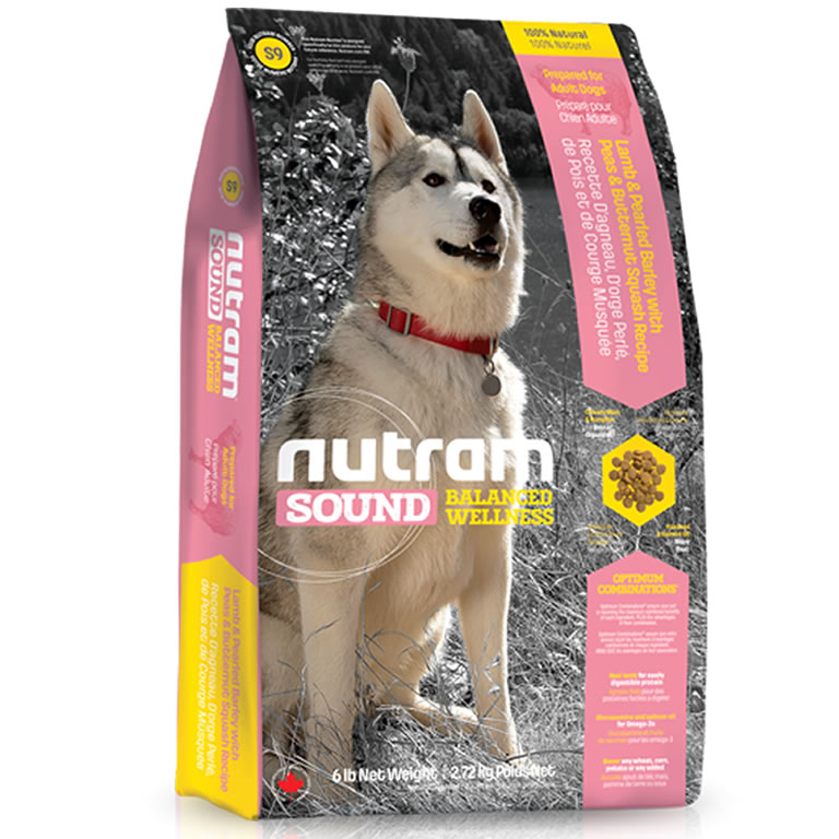 S9 Nutram Sound Lamb Adult Dog
