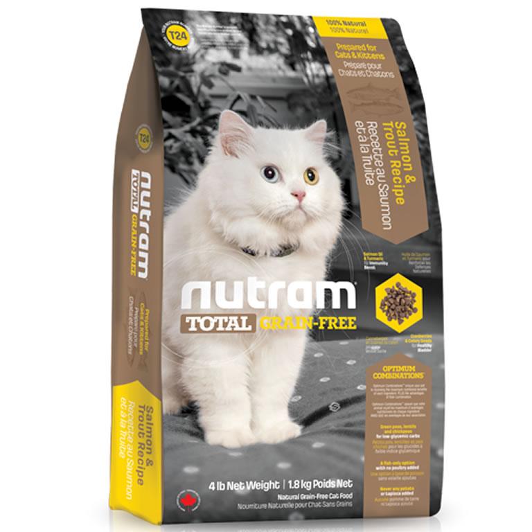 T24 Nutram Total Salmon & Trout Cat