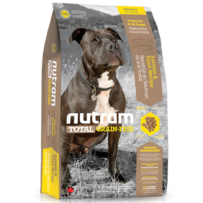 T25 Nutram Total Salmon & Trout Dog